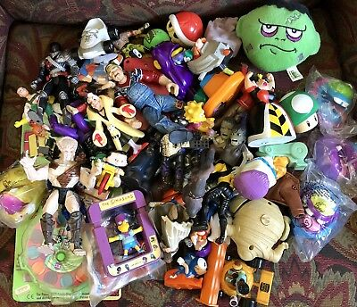 Nice Lot Of Vintage Collectible Figures Toys 80s 90s 00s
