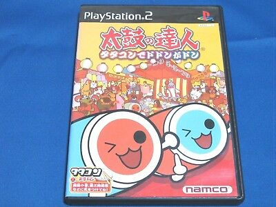 Sony Playstation2 PS2 Taiko no Tatsujin [Tatakon de Dodon ga Don]  SN937