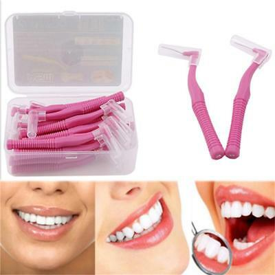 20Pcs Interdental Brushes Oral Floss Flossers Dental Teeth Care Pro shan