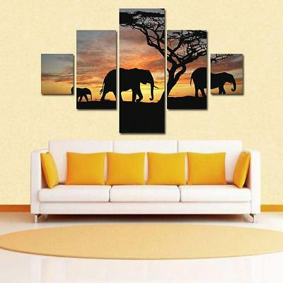 Canvas Modern Home Wall Decor Art Painting Picture Print 6 Panel SS
