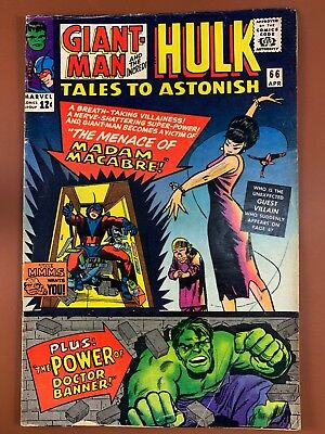 Tales to Astonish #66 (1965 Marvel) Hulk and Giant Man appearance NO RESERVE