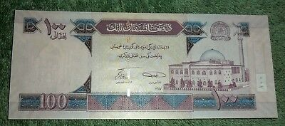 JB RFM 62763 Afghanistan Bank Note 100 Afghanis Crisp BU Condition. We are curre