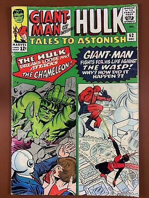 Tales to Astonish #62 (1965 Marvel) Hulk and Giant Man appearance NO RESERVE