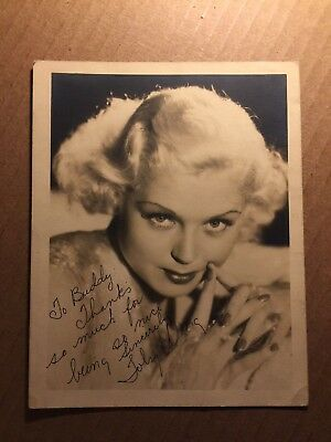 Toby Wing Rare Early Vintage Autographed Photo 42nd Street 1930s