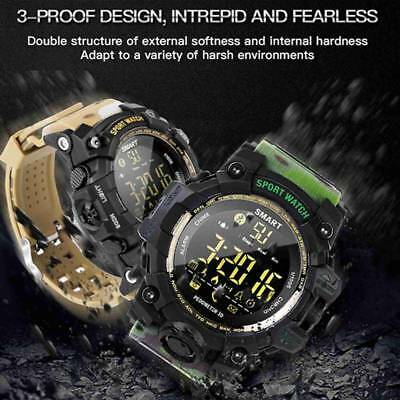 Men Wristwatch Waterproof Bluetooth Smart Watch Fitness Tracker Sport Pedometer