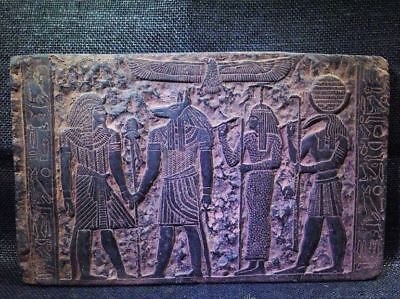 Egyptian Antiques Antiquities Tutankhamun Seshat Stela Relief 1213-1279 Bc