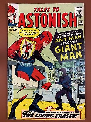 Tales to Astonish #49 (1963 Marvel) 1st appearance of Giant Man NO RESERVE