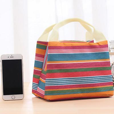 Insulated Storage Cooler Thermal Picnic Lunch Bag Waterproof Travel Tote SS