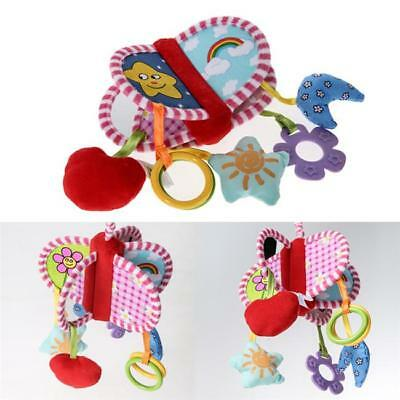 Baby Newborn Rattles Plush Stroller Pram Bed Music Hanging Bell Toy Doll SS