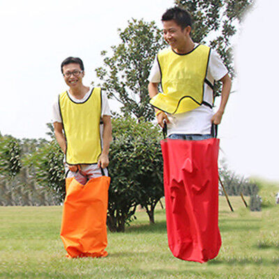 Racing Jumping Sack Various Colors For Activity Practice Balance Skill Game Shan
