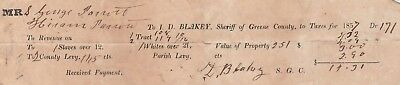 Slave Document Signed by Soldier Who Delivered Grant's Surrender Terms to Lee