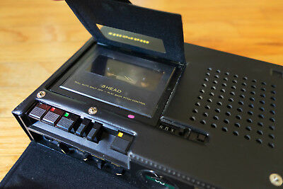Marantz PMD222 - portable cassette recorder with variable speed and pitch