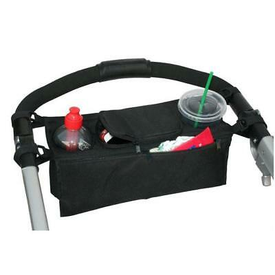 Baby Stroller Parent Console Organizer With Double Cup Holder Black Hotsell - SS