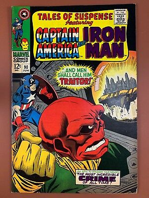 Tales of Suspense #90 Marvel Comics Iron Man and Captain America appearance