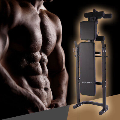 Adjustable Weight Lifting Multi-function Bench Fitness Exercise Strength Workout
