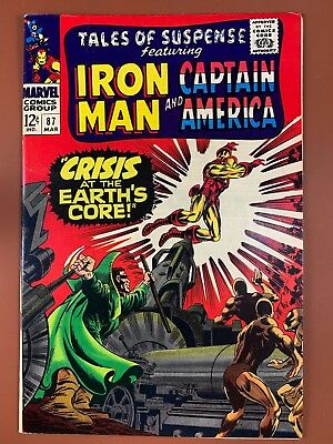 Tales of Suspense #87 Marvel Comics Iron Man and Captain America appearance