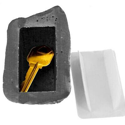 Outdoor Fake Realistic Rock Key Holder Hider Safe Hidden Key Holder Organizer SS