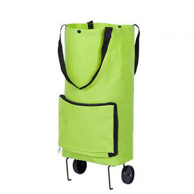 Shopping Trolley Cart with/without Seat Bag Basket Wheels Collapsible Shan