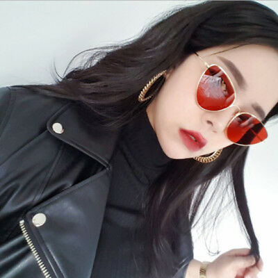 Light Weight UV Protection Ladies Cat Eye Sunglasses Oval Shape Large Lens Shan