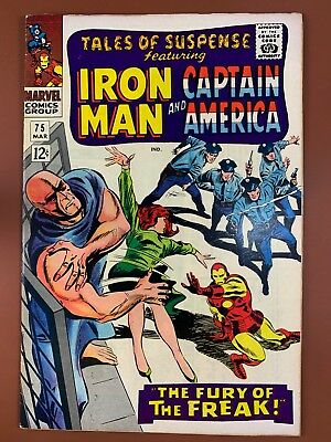 Tales of Suspense #75 Marvel Comics Iron Man and Captain America appearance