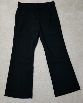 Motherhood Maternity Career Dress Black Pants XL
