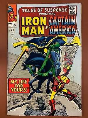 Tales of Suspense #73 Black Knight Iron Man and Captain America appearance