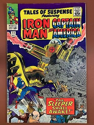 Tales of Suspense #72 Marvel Comics Iron Man and Captain America appearance