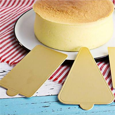 20PCS Printing Mousse Cake Boards Paper Cupcake Dessert Displays Tray shan