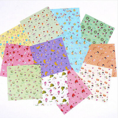 Origami Paper Craft 14X14cm Mix Color Flower Patterned Folding Paper Square Shan