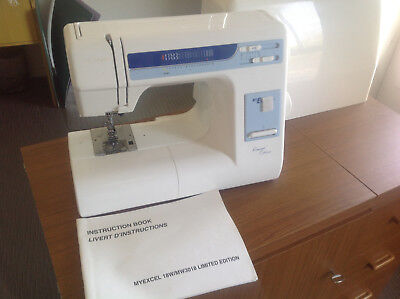 Janome MyExcel 18W sewing machine. Hardly used in excellent working condition.