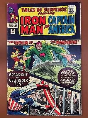 Tales of Suspense #62 Marvel Comics Iron Man and Captain America appearance