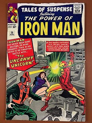 Tales of Suspense #56 Marvel Comics Iron Man appearance Silver Age NO RESERVE