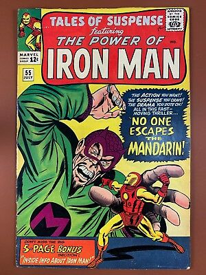 Tales of Suspense #55 Marvel Comics Iron Man appearance Silver Age NO RESERVE