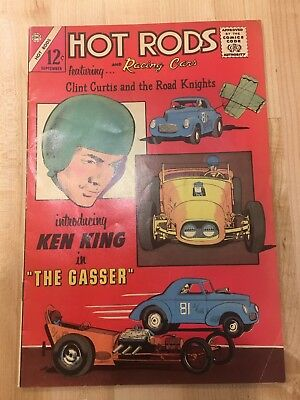 Comics Hot Rods & Racing Cars Gassers: Clint Curtis September 1965 CDC
