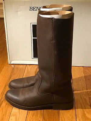1a42bac8af1f PENELOPE CHILVERS MIDCALF Gaucho Tassel Brown Boots Size 7.5 USA ...