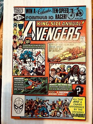 The Avengers Annual #10 1st Appearance of Rogue. High Grade!