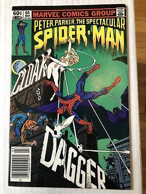The Spectacular Spider-Man #64 - First Appearance Cloak and Dagger - High Grade!