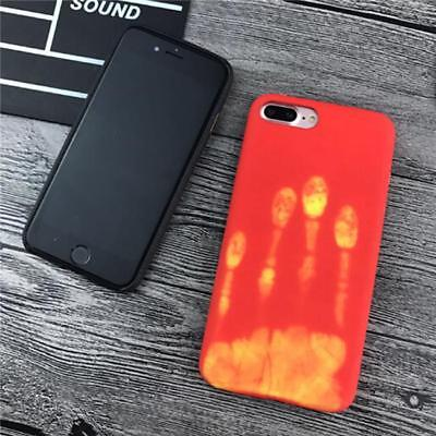 Thermal Discoloration Phone Case Soft Protector iPhone 6/6s/ 7 7plus Gift shan