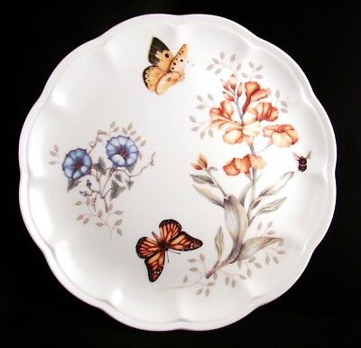 "Lenox BUTTERFLY MEADOW Dinner Plate(s) ""Monarch"" EXCELLENT"