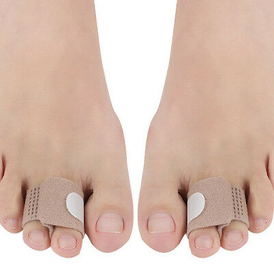 Toe Splints Straightener Bandage Cushioned Corrector For Crooked Toe SA
