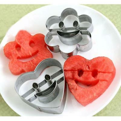 Popular Smile Face Stainless Steel Cookie Cutter Mould Fondant Cupcake Tool SS