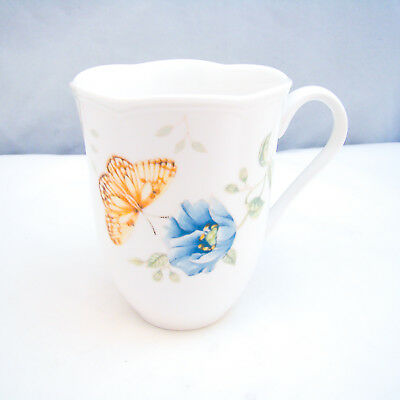 "Lenox BUTTERFLY MEADOW Mug ""Fritillary"" EXCELLENT"