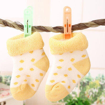 20Pcs Pack Clothes Pegs Laundry Hanging Pins Clips Clothespins Drying Holder SA