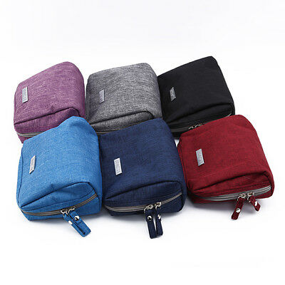 Travel Cosmetic Bag Zip Make Up Function Case Storage Pouch Toiletry Beauty Shan