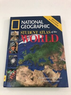 National Geographic : Student Atlas Of The World (2005, Hardcover)