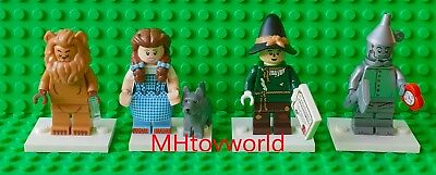 Lego Movie 2 - Wizard Of Oz Minifigure Series Set of 4 Minifigures 71023