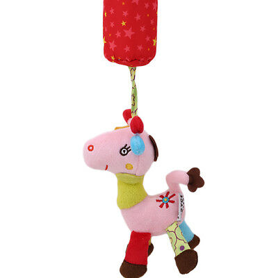 Newborn Infant Toys Baby Plush Bed Wind Chimes Rattles Bell Toy Stroller
