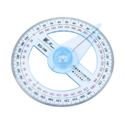 Useful Measuring Tools Swing Arm Protractor Angle Finder Ruler 360 Degree Shan