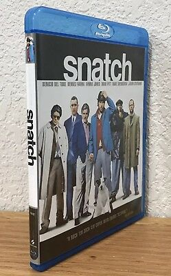 SNATCH (Blu-Ray, 2009) REGION FREE ~ DISC IS FLAWLESS!