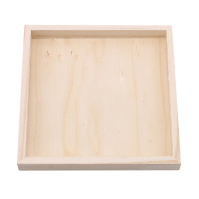 Painting Building Block Wood Pallet Montessori Early Educational Wood Tray Shan